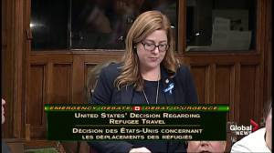 'We do not know what this ban means': MP describes border confusion after Trump travel ban