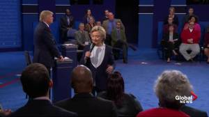 Presidential debate: Trump's 'alternative reality' would provide 'massive gift' to corporations, himself
