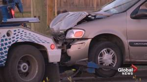 'A miracle' no one seriously injured in Calgary overdose crash