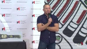 Georges St-Pierre lost UFC 94 championship belt because of 'bad circumstances'