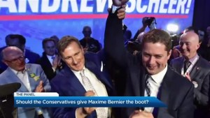 Should Maxime Bernier get the boot from the Conservative caucus?