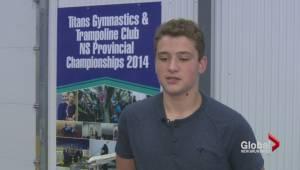 Nova Scotia teen jumping for glory
