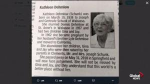 Abandoned children write mother's obit: 'She will not be missed'