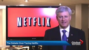 Canadian streaming services paying tax while Netflix is off the hook for GST