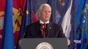 'We will know their names': Mike Pence receives bodies of U.S. soldiers killed in Korean War