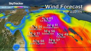 Saskatoon weather outlook: windy days on the way