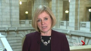 Alberta premier discusses economy and climate change