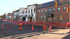 Fire destroys businesses, apartments in downtown Bridgewater, N.S. (01:26)