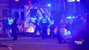 Emergency responders rush to incident on London Bridge