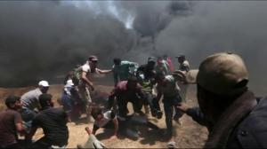 More than 50 killed in Gaza as U.S. embassy opens in Jerusalem