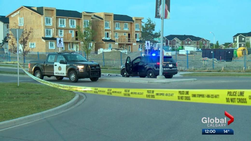 Click to play video: 'ASIRT investigating officer-involved shooting in Calgary's Redstone community'