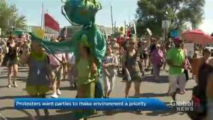 Making the environment a Quebec election campaign issue