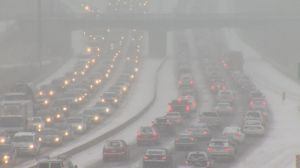Messy commute expected to hit evening rush hour