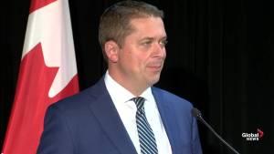 Scheer denounces Trudeau's response to ethics commissioner report on SNC Lavalin scandal