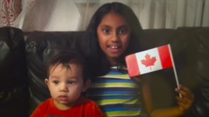 Canadian children send messages of welcome to Syrian refugees