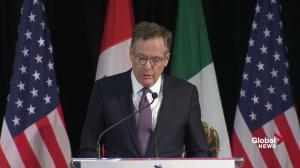U.S. NAFTA negotiator says 'some progress' made, but moving 'slowly'