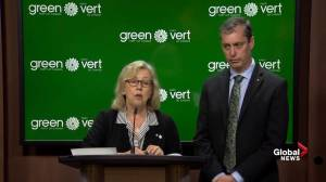Elizabeth May: Canada has tools to tackle climate change 'it hasn't opened'