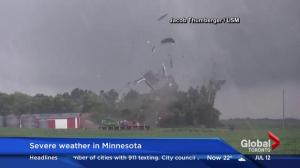 Tornadoes rip through Minnesota leaving widespread damage
