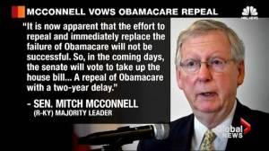 Is 'Trumpcare' healthcare overhaul in the U.S. DOA?