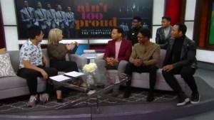The cast and story of The Temptations in Ain't Too Proud