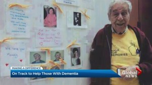 Making a Difference – 93-year-old Toronto man walks to conquer Alzheimer's disease