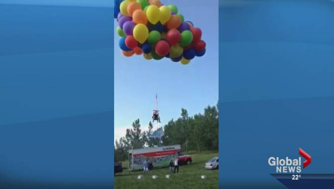 Police Lay Charges In Dangerous Balloon Chair Stampede