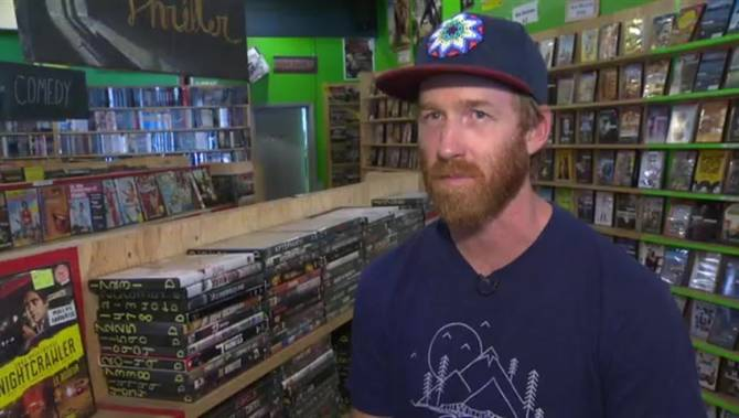 Kelowna's last video store for sale, says owner