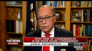 Trump will 'take action' if Saudis behind Khashoggi disappearance: Kudlow