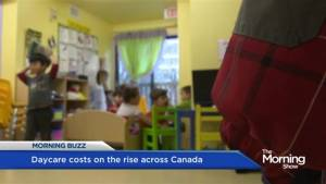 Daycare costs rising across Canada (01:41)