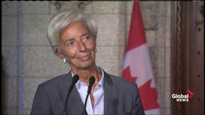 IMF's Lagarde talks about 'risks' in housing markets for Toronto, Vancouver