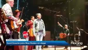 Gord Downie returns to the stage