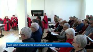 Saint John church moves into new home just in time for Christmas