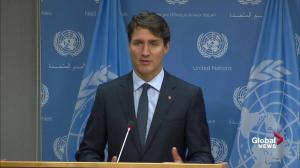 Trudeau explains why he devoted UN speech to First Nations issues