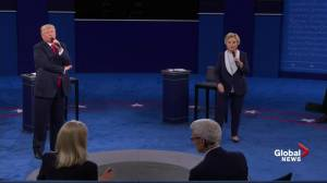 Presidential debate: Trump blasts moderators for giving Clinton extra time, calls it 'very interesting'
