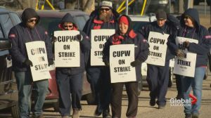Canada Post rotating strikes hit Saskatoon, Moose Jaw, Weyburn