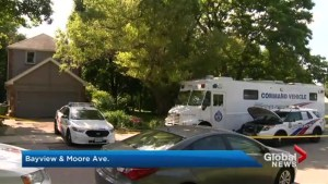 Toronto police remove 'items' from excavation of property linked to Bruce