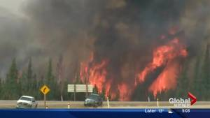 Media tour of Fort McMurray wildfire damage on Monday