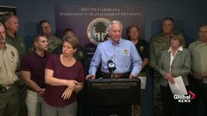 Some South Carolina residents should head home now if they can, governor says