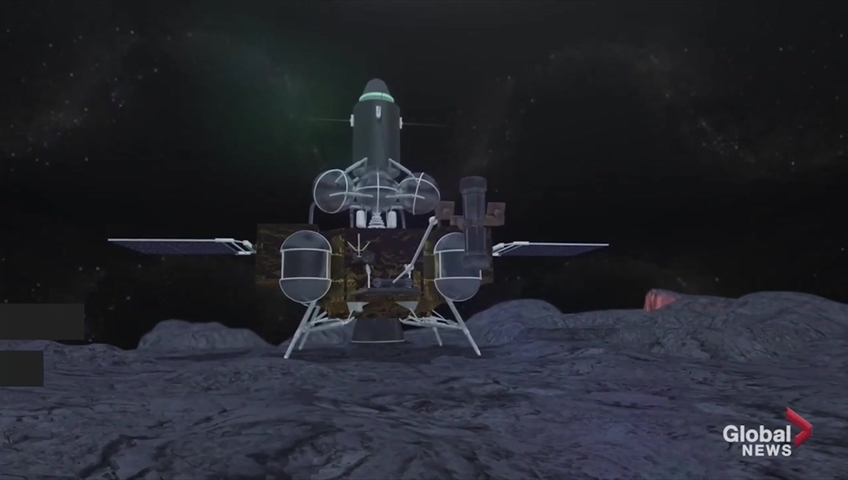 Click to play video 'China making renewed commitment to lunar missions'