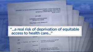 Ontario court rules religious doctors must refer for medically assisted deaths (01:34)