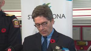 Strathcona County staff met with community members after explosions