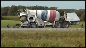 Fatal crash on County Road 25