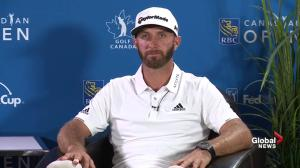 'I like this golf course': Dustin Johnson defend Glen Abbey