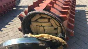 Mexican navy seize 220 kgs of cocaine at Manzanillo port in Pacific ocean
