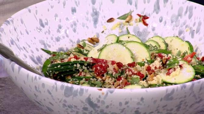 Recipe: Zucchini and couscous salad