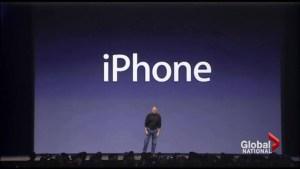Apple's iPhone celebrates 10 years