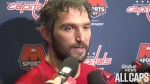 Alex Ovechkin answers questions about buying clothes for homeless man in Edmonton