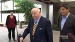 Senator Mike Duffy avoids questions about possible lawsuit against Senate