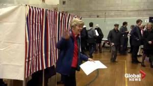2018 midterms: Elizabeth Warren casts vote in Massachusetts