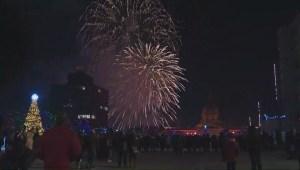 Edmonton rings in New Year